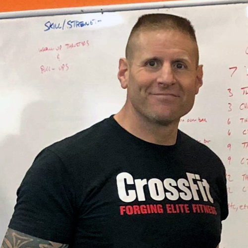 Coach Dave Burges West Sacramento Strength and Conditioning